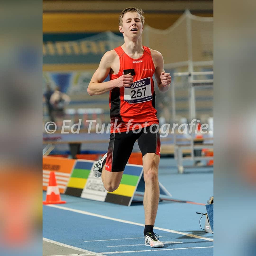 ASICS NK Indoor Junioren 2018   Ruben Talstra